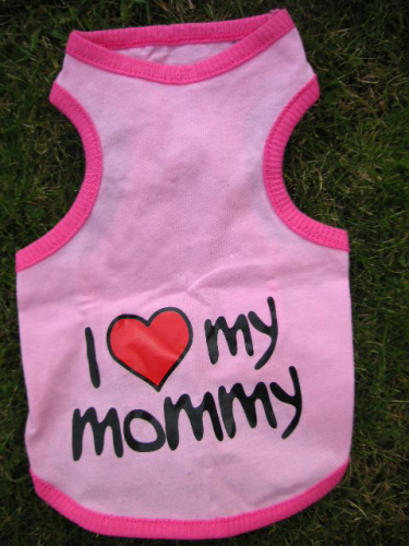 débardeur i love mommy rose