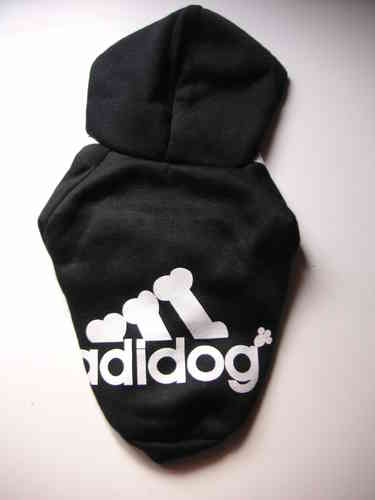 sweat capuche ADIDOG noir taille S