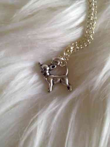 collier pendentif CHIHUAHUA argent