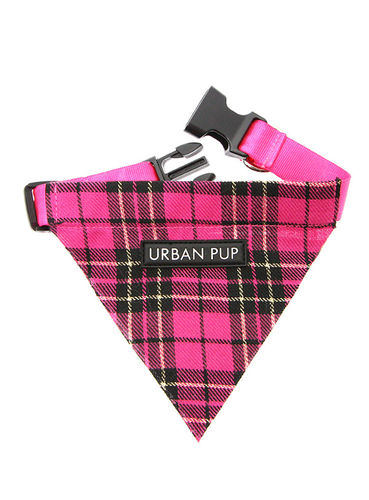 Collier Bandanas Burberry Rose fuchsia